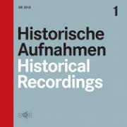 Various: Historical Recordings Vol. 1