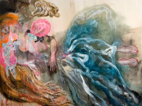THE CORE, Öl auf Leinwand, 190 cm x 250 cm, 2010