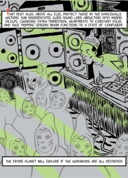 Comic Invasion Of The Mysteron Killer Sounds
