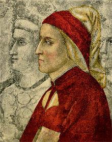 Dante von Giotto, frühestes Bild