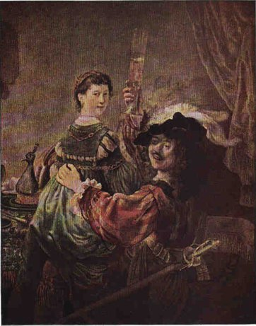 Rembrandt Mit saskia
