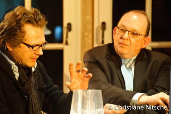 Andreas Fröhlich und Denis Scheck