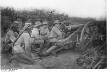 Deutsch-Ostafrika, Deutsches Feldgeschütz