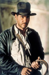 """Harrison Ford als Indiana Jones in """"Jäger des verlorenen Schatzes"""", 1981"""