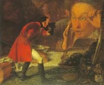 Gulliver in Brobdingag, von Richard Redgrave, Victoria and Albert Museum