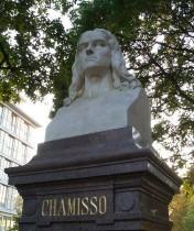 Chamisso-Büste im Monbijoupark, Berlin-Mitte