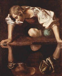 Narziss(Caravaggio, 1598/99, Galleria Nazionale d'Arte Antica, Rom)