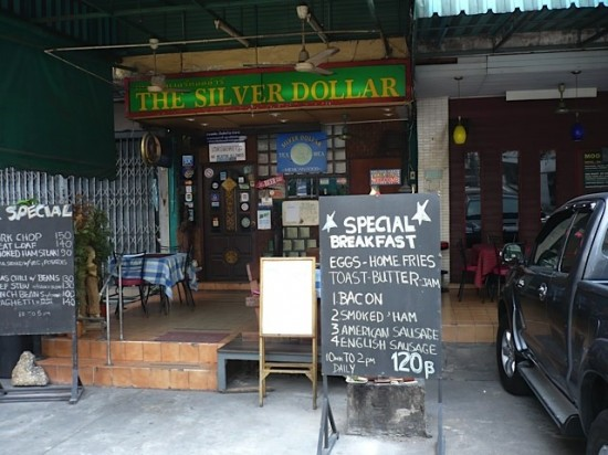 Expat-Pinte in Bangkok, von Christopher G. Moore gern frequentiert