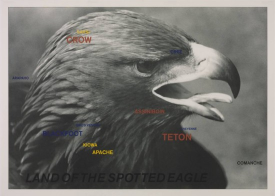 Land of the Spotted Eagle 1983 by Lothar Baumgarten born 1944