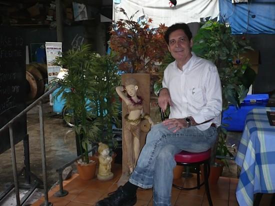 Christopher G. Moore in Bangkok