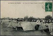 Postkarte Legionäre