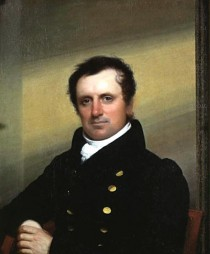 James Fenimore Cooper. Gemälde von John Wesley Jarvis, 1822.