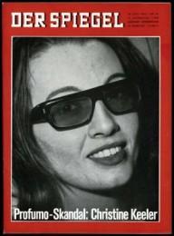 Profumo-Skandal: Christine Keeler/DER SPIEGEL Ausgabe  25/1963