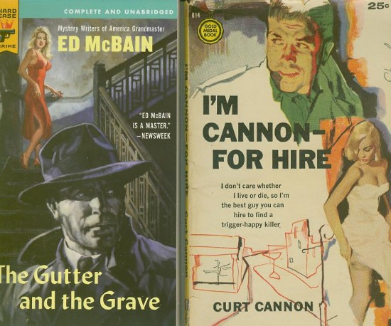 Ed McBain_The Gutter and the Grave_Cannon for hire
