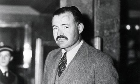 Hemingway in 1938. Photograph: Bettmann/Corbis (Quelle)