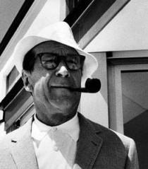 Georges Simenon, 1963, Foto von Erling Mandelmann