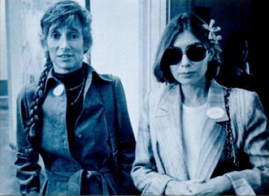 Renata Adler und Joan Didion by Jill Krementz