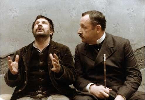 Der Richter und der Mörder (1976): Michel Galabru & Philippe Noiret ( © D.R.)