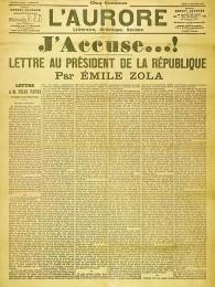 Der offene Brief J'accuse