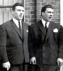 Ronnie und Reggie Kray