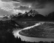 Anselm Adams, The Tetons and the Snake River, Grand Teton National Park, Wyoming 1942