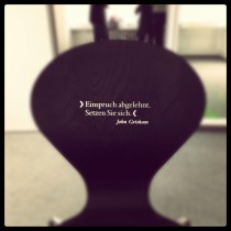 Trägermedium stuhl