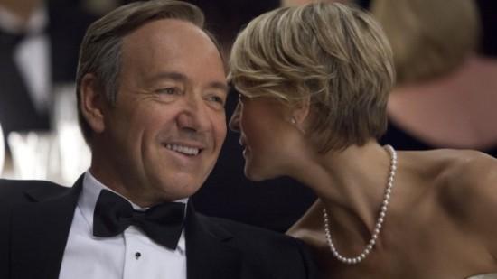 Mr. und Mrs. Macbeth: Kevin Spacey und Robin Wright intrigieren in Washington. (Foto: Sony Pictures Television Inc.)
