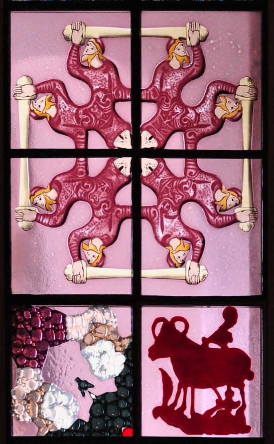 Polke Großmünster Detail