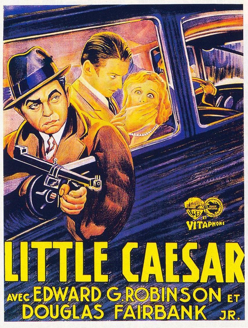 Robertwarshowdie Unmittelbare Erfahrung Poster Little Caesar
