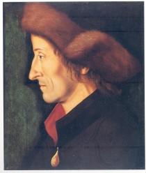 Hans Burgkmair d. Ä.: Bildnis des Sebastian Brant (um 1508)