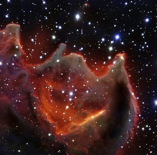 VLT image of the cometary globule CG4
