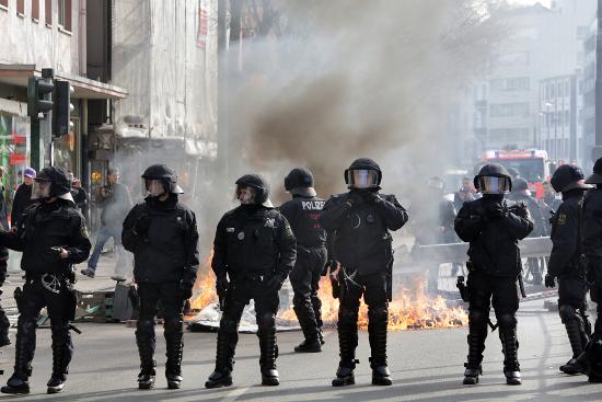 EZB Demo am 18.03.2015