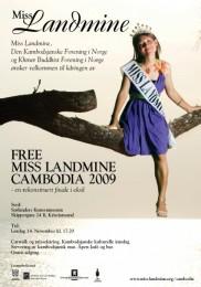 Miss Landmine Cambodia 2009