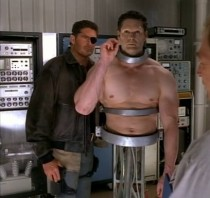 David Hasselhoff and 1998's Nick Fury- Agent of S.H.I.E.L.D.