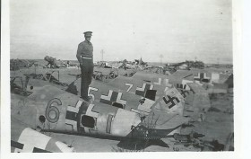 7 Me 109 Wrecks at El Daba