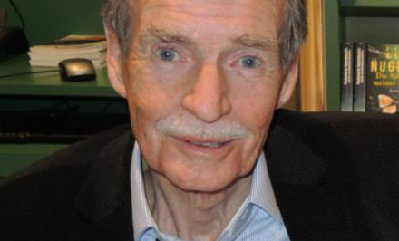 William McIlvanney 2015 in München (c) Krimifestival München