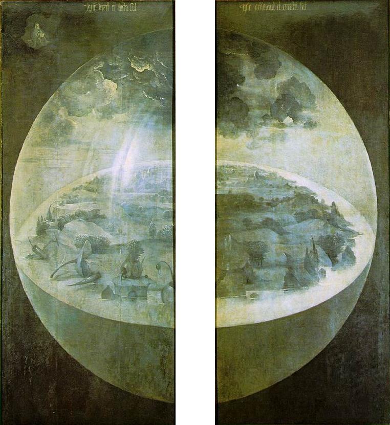 Kunst Mit Hieronymus Bosch Durchs Jahr 2016 Diesmal Der Garten