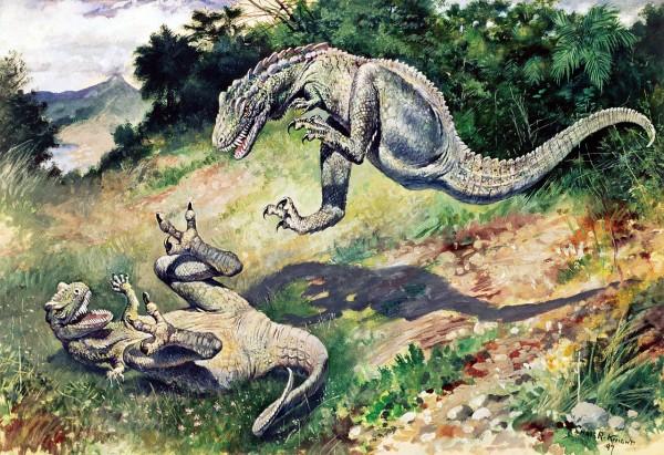 Illustration von Charles R. Knight