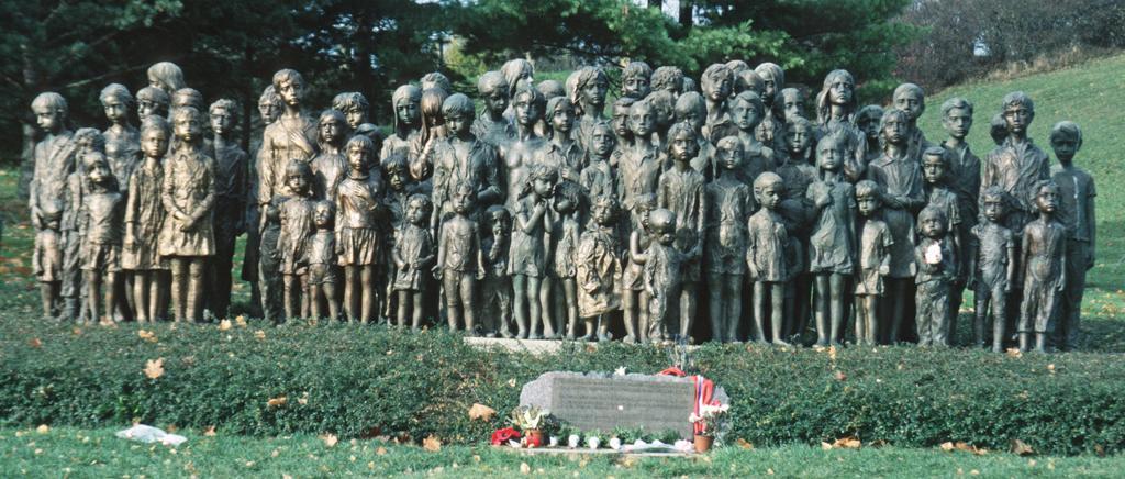 Denkmal der Kinder von Lidice