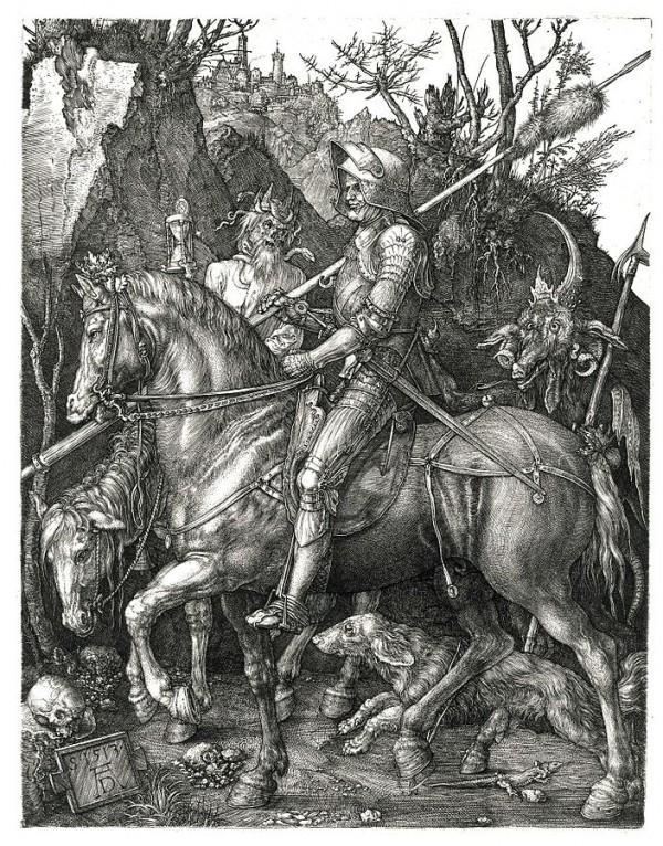 Ritter, Tod und Teufel; Albrecht Dürer,1513