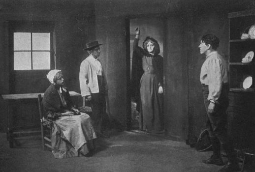 Cathleen ni Houlihan – Scene from a production c. 1912.