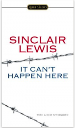 Sinclair_it can't happen here_Cover
