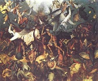 Pieter Brueghel d. Ä.: Sturz der gefallenen Engel (1562)