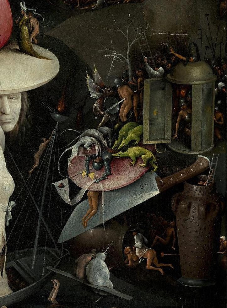 Kunst Mit Hieronymus Bosch Durchs Jahr 2016 Diesmal Garten Der