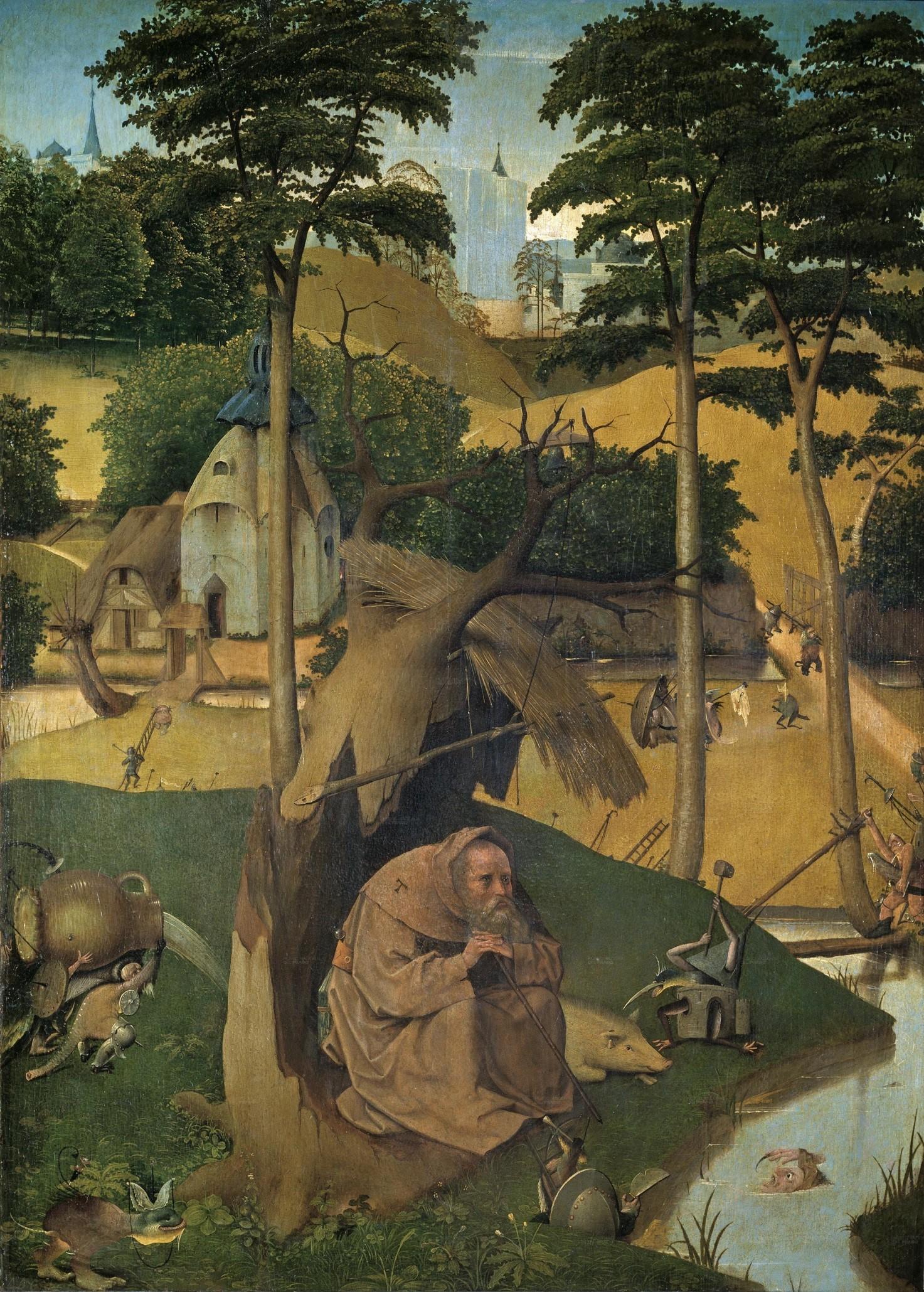 Kunst: Mit Hieronymus Bosch durchs Jahr 2016. Diesmal: Der hl ...