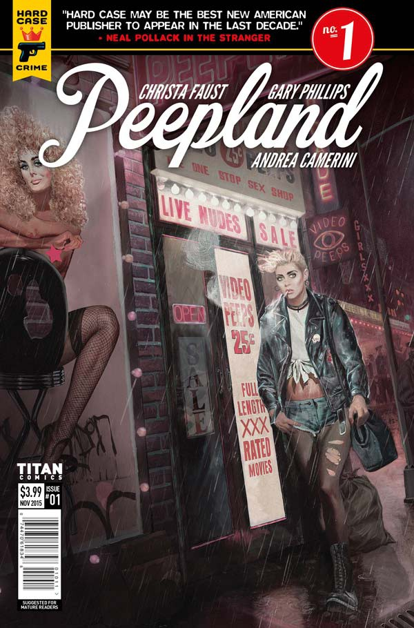 Peepland issue one cover by Fay Dalton