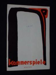 Intendant-Hans-Schweikart-Münchner-Kammerspiele+Programmheft-10-Münchner-Kammerspiele-1954-55-DER