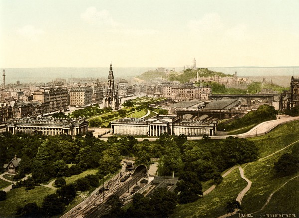 Edinburgh_from_the_castle,_Scotland,_1890s
