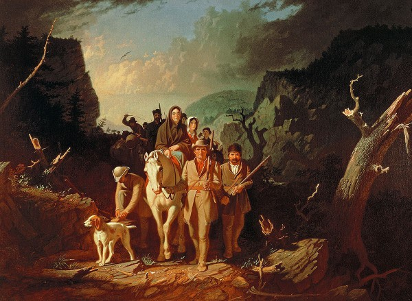 George_Caleb_Bingham_-_Daniel_Boone_escorting_settlers_through_the_Cumberland_Gap