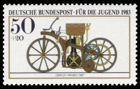 Briefmarke Fahrrad